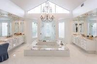 Gorgeous White Marble Bathroom #bathroom #marble # ...