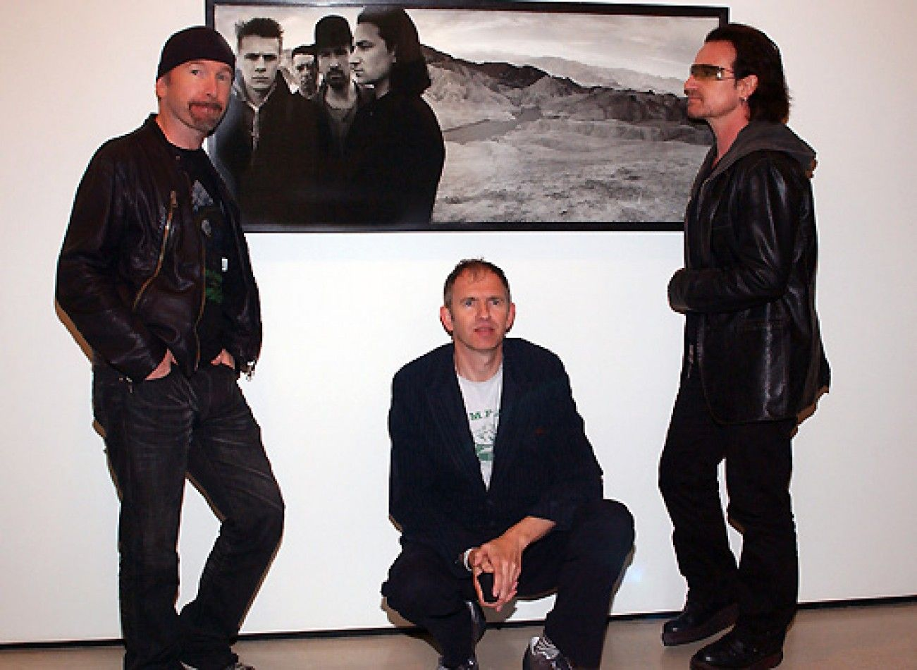 Anton Corbijn The Edge Anton Corbijn And Bono U2newsactualite