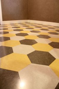 I really like this flooring for a laundry room ...