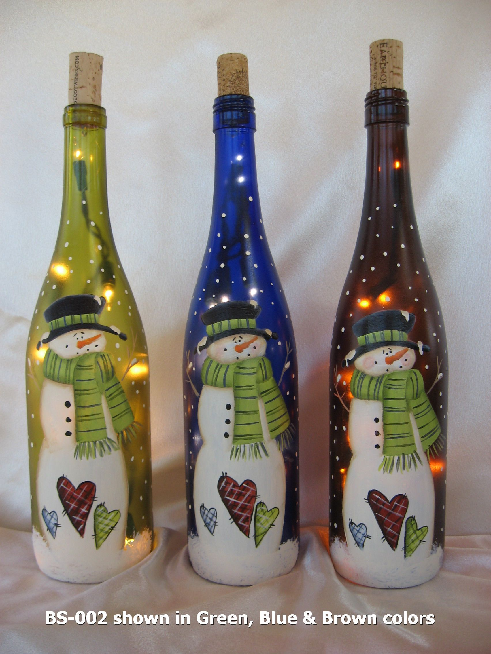 Botellas Decoradas Navideñas Click To Close Crafts Pinterest Botellas Decoradas