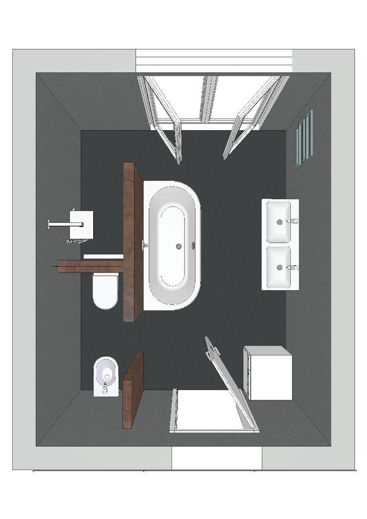 Badplanung mit T-Lösungen sind trendy und beliebt ähnliche tolle - badezimmer 3x3 meter