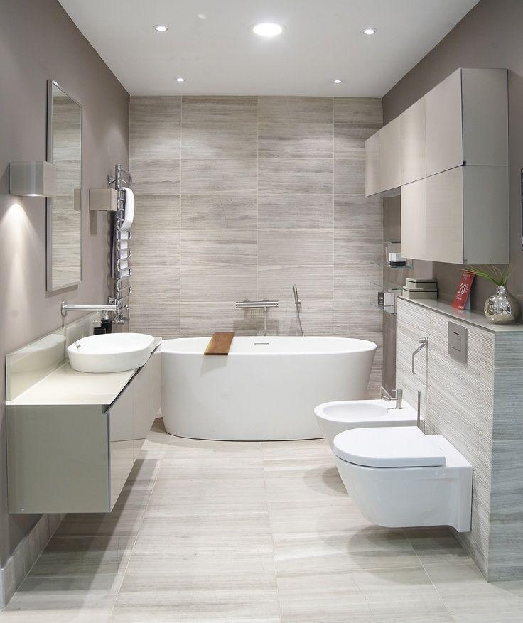 Simple, modern bathroom design WOW WHAT A BATHROOM Pinterest - simple bathroom designs