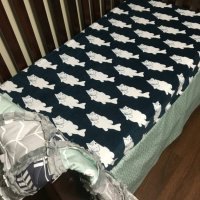GONE FISHING Nursery Collection Fishing Crib bedding by