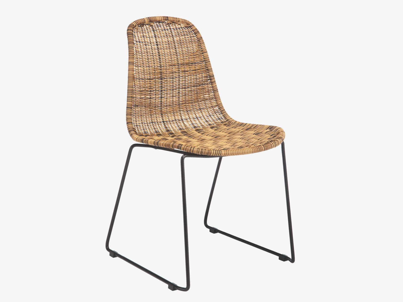 wicker kitchen chairs MICKEY NATURAL Rattan Natural rattan dining chair HabitatUK
