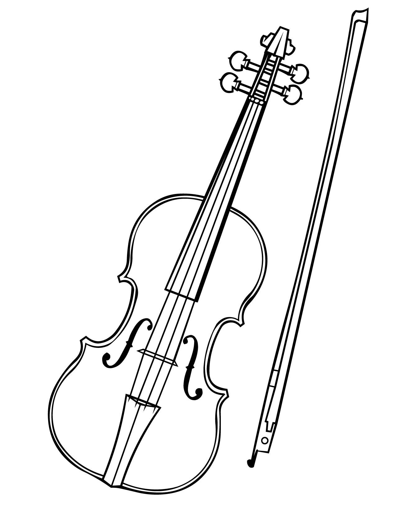 Find this pin and more on projects print and color a violin coloring book