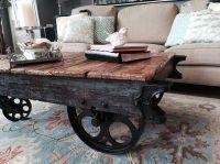 Factory Cart Coffee Table :: Hometalk   DIY Around the ...