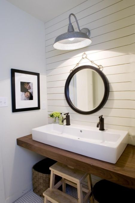 78+ Images About Diy Vanities On Pinterest | Double Sinks