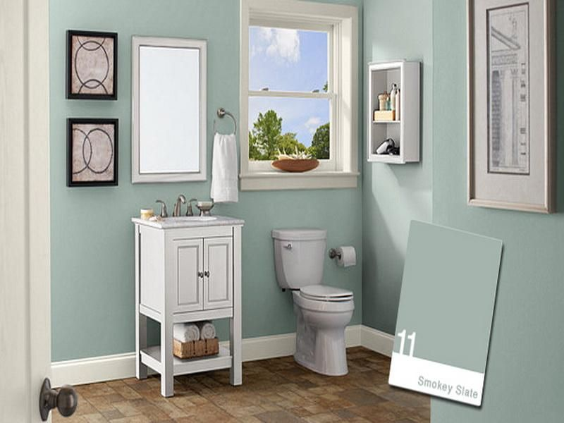 Bathroom Wall Paint Colors Newhow To Choose Paint Colors For A - small bathroom paint ideas