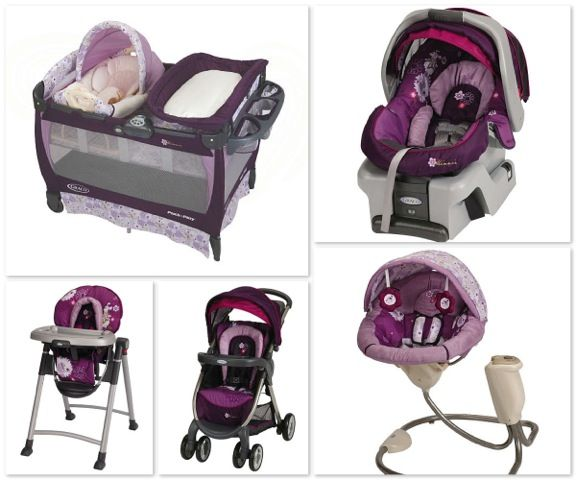 Minnie Mouse Infant Car Seat And Stroller Graco Minnie Mouse Print Love This Want It All Already