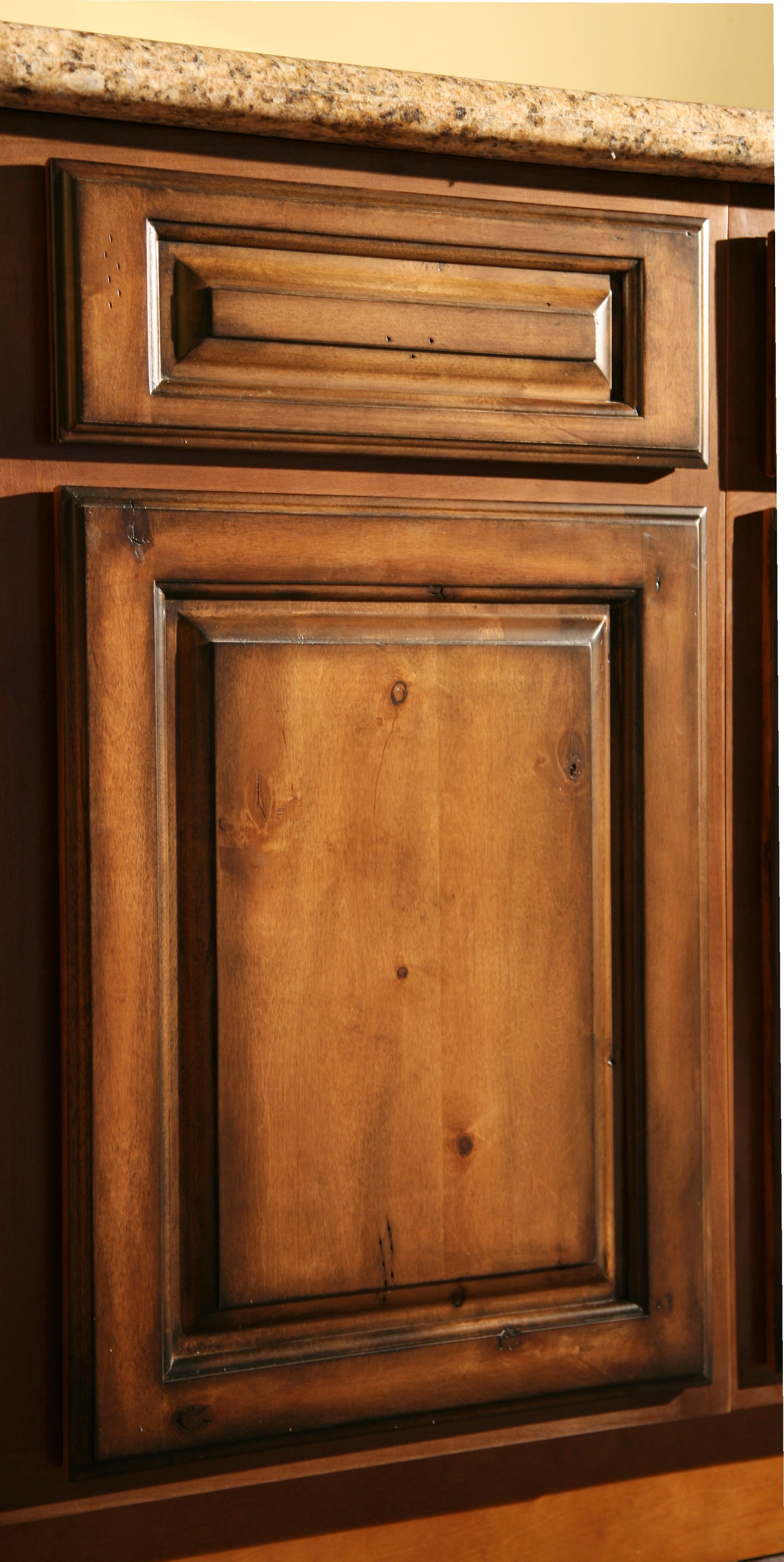 rustic kitchen cabinets Pecan Maple Glaze Kitchen Cabinets Rustic Finish Sample Door RTA All wood