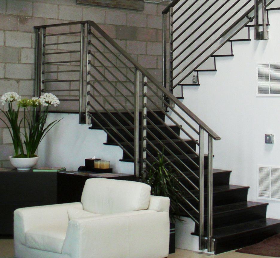 Contempo Images Of Indoor Stair Railing Kits Lowes For