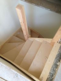Double kite winder staircases made to measure | Home ...