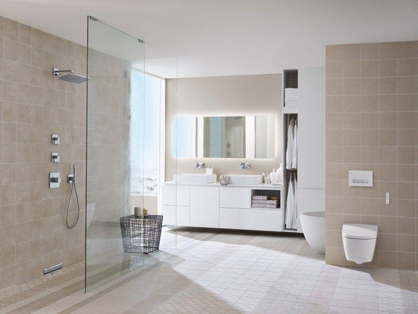 Inspiration Badezimmer u003e Mit Geberit gestalten , Geberit - weies badezimmer modern gestalten
