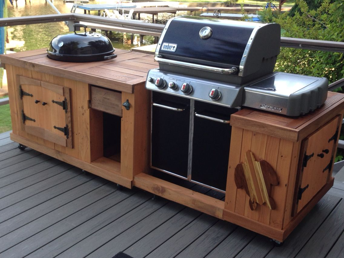 Segmüller Küche Weber Grill Bbq From Pallet Boards Outdoor Bbq Pinterest Outdoor