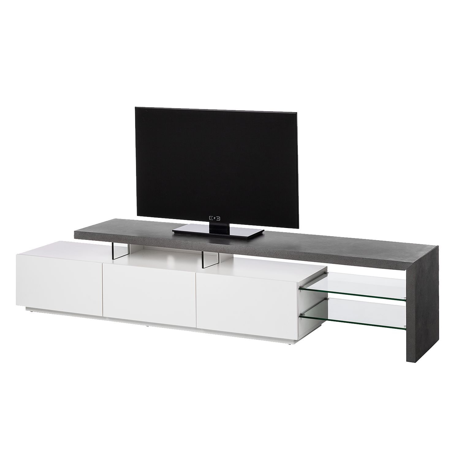 Sideboard Creme Matt Lowboard Wei Matt Affordable Kommode Schmal Weia