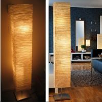 """New Beautiful 57"""" Magnarp Floor Lamp With Rice Paper ..."""