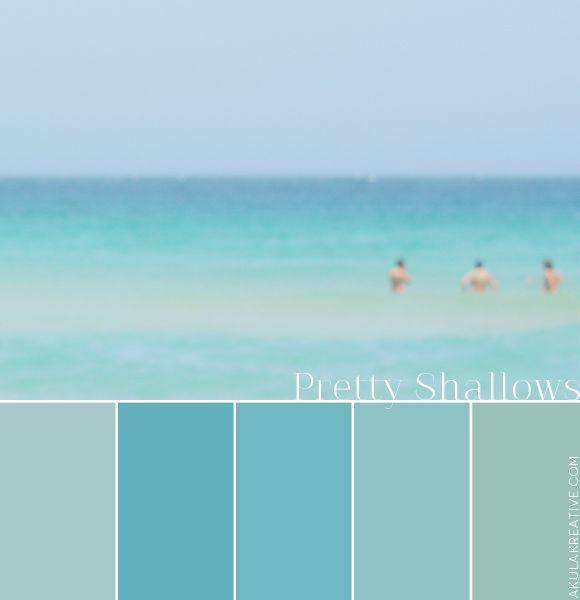 An Ocean-Inspired Color Palette (Based On Honolulu) // Deep Blue