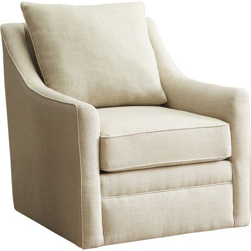 $520 Cushions not reversible Found it at AllModern - Quincy Swivel - swivel chairs living room