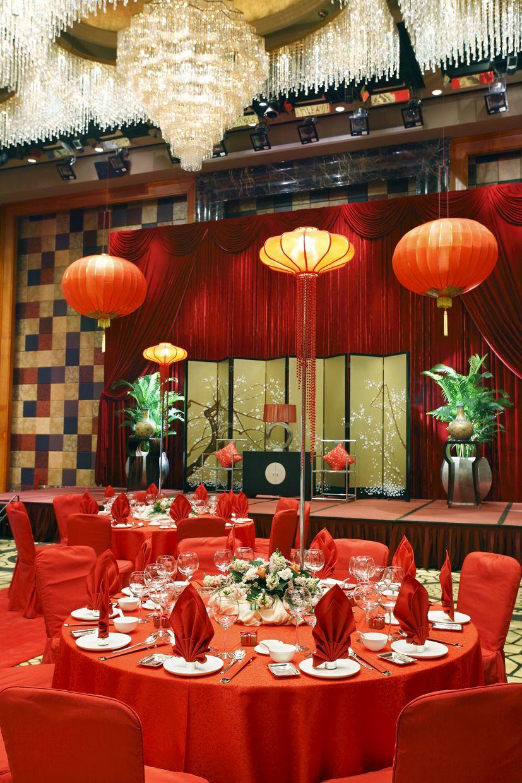 wedding supplies Chinese Wedding Table Setup