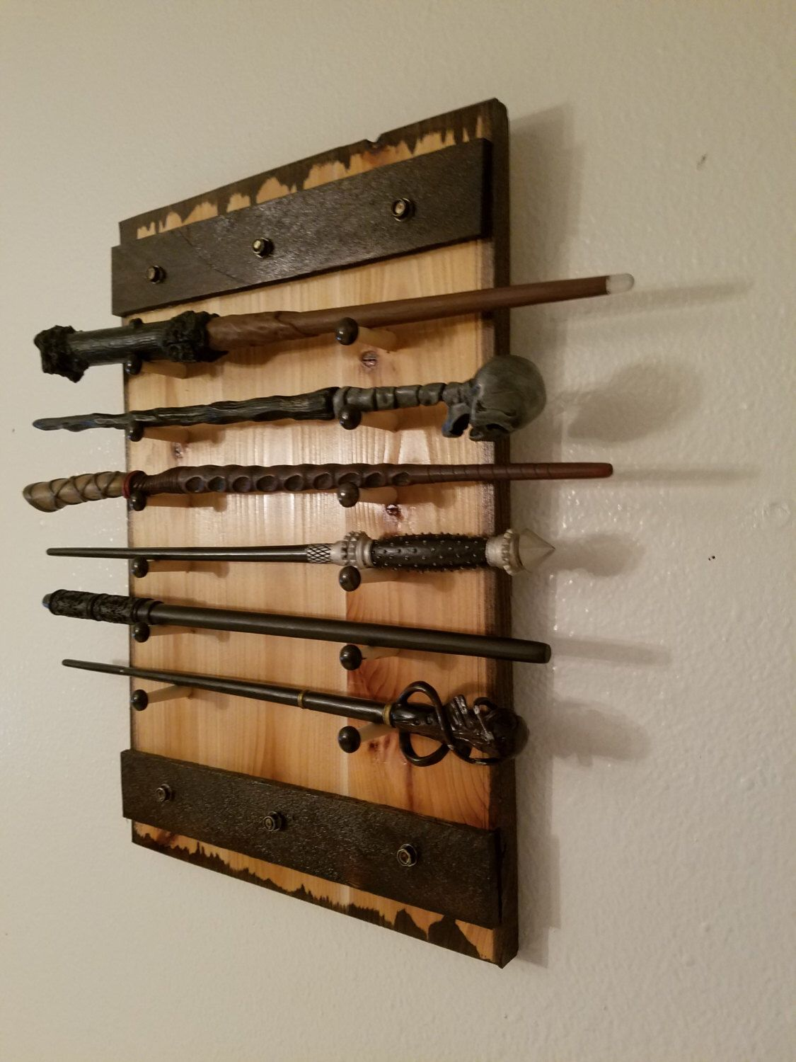 Harry Potter Display Harry Potter Wand Holder Holds 1 To 12 Wands Wand Rack