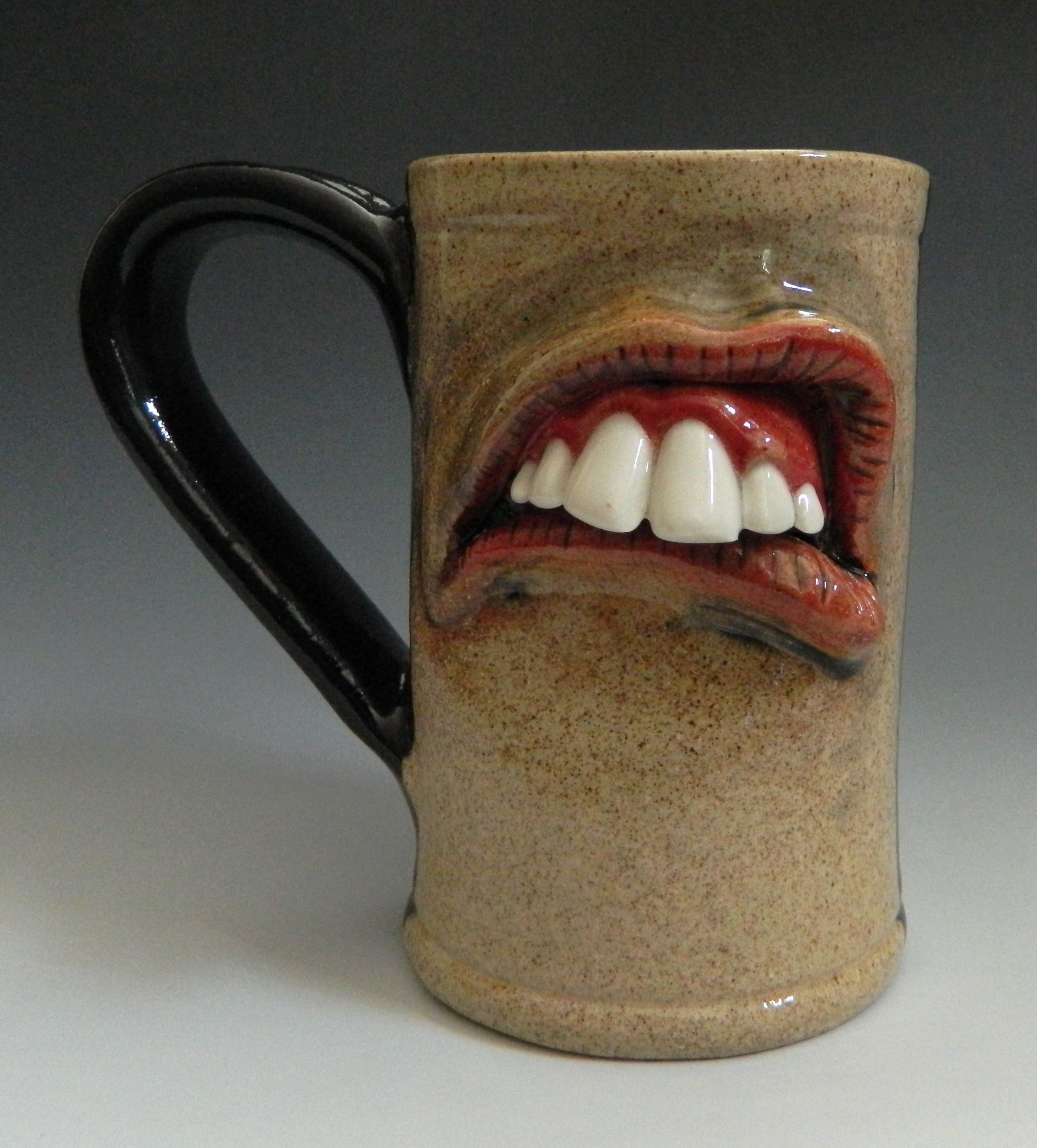 Weird Mugs Darted Pottery Mugs Nice For Work When Your Boss Tells