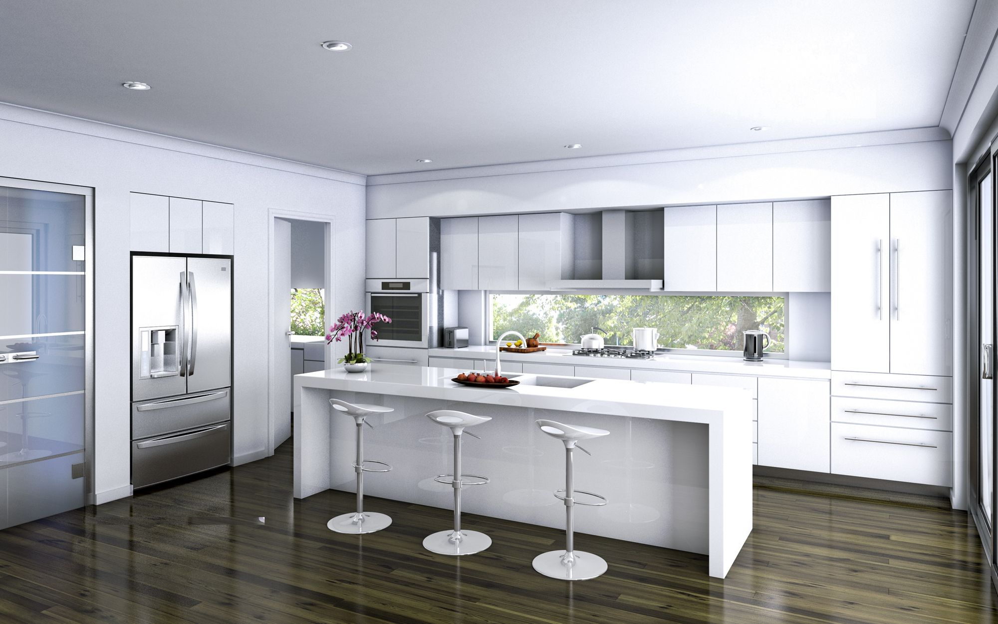 Modern White Kitchen Island Kitchen Island Amazing Kitchen Designs With Dark Hardwood