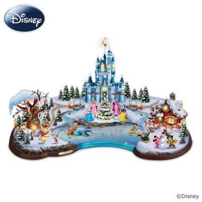 Disney Christmas Cove Sculpture Bright, Decoration and Lights - disney christmas decorations