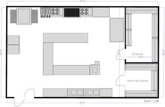 kitchen design bistro plan elevation - Google Search STUDIO 32 - kitchen design plans
