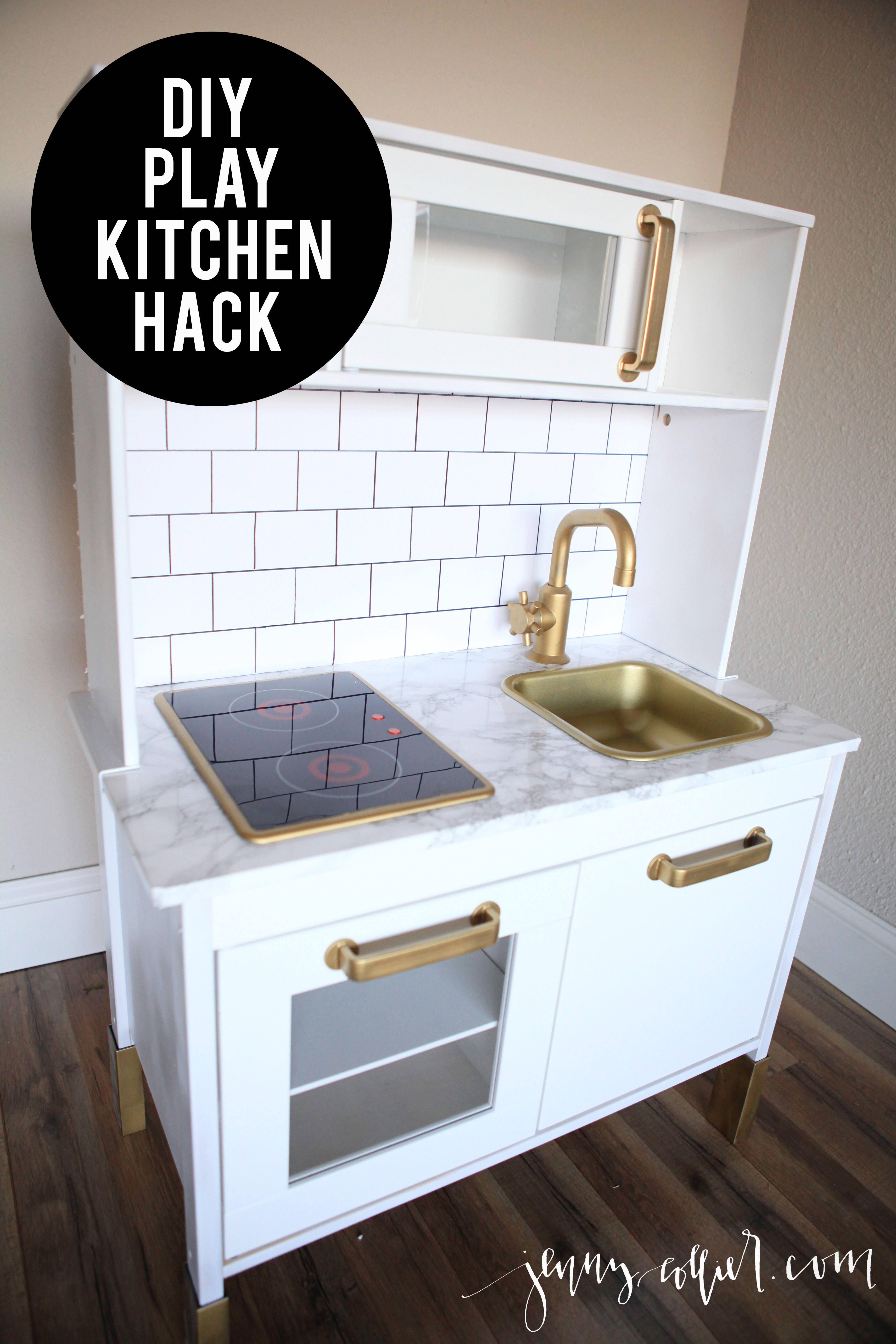 Pinterest Cabinets Kitchen Diy Play Kitchen Hack For Makaila Pinterest Diy Play