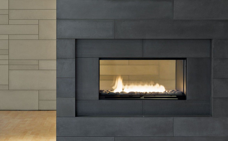 Tiled Fireplace Surround Ideas Modern Fireplace Tile