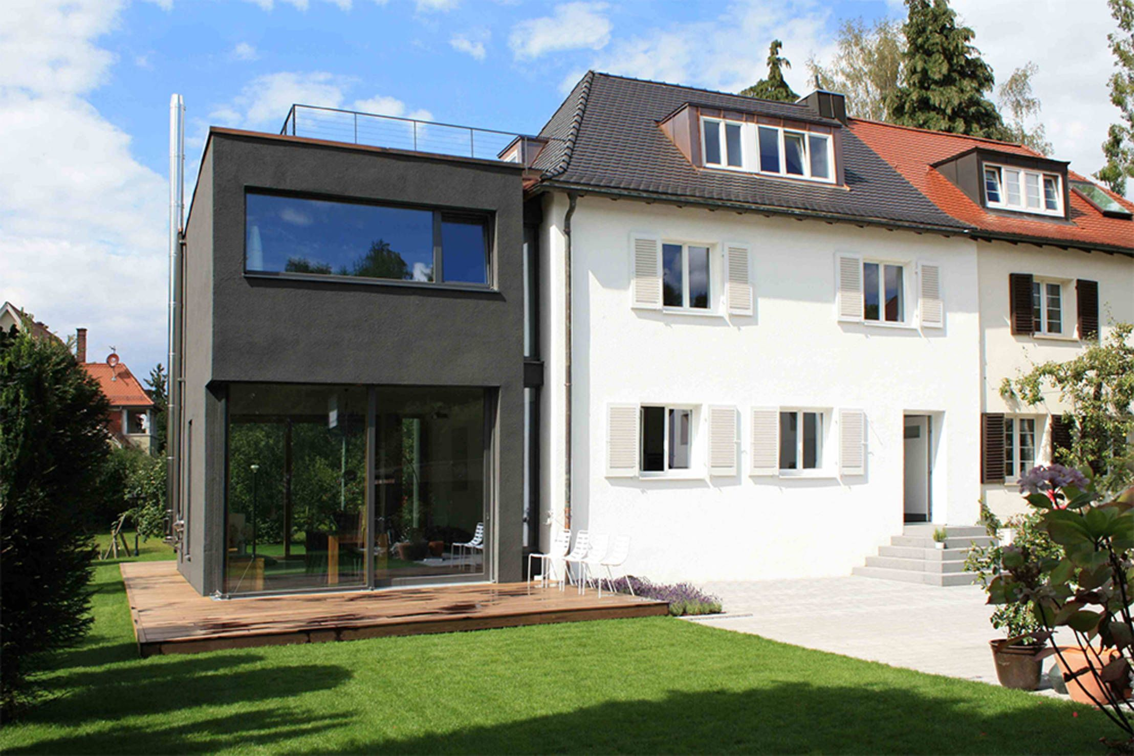 Anbau Haus Ideen Old Meets New Trendy Modern Extensions To Classical