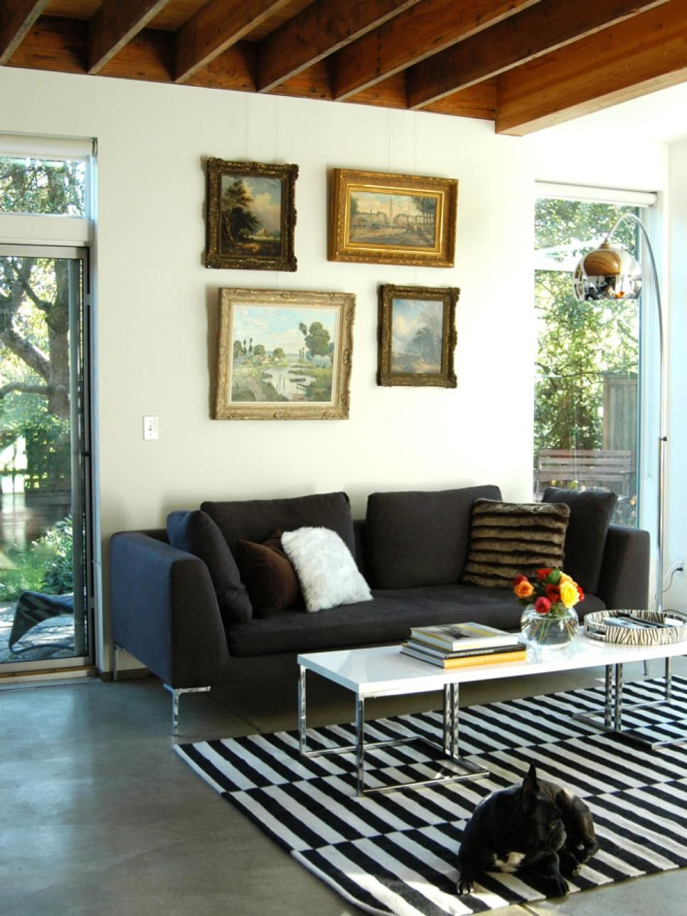 Ecelctic home decor and decorating ideas