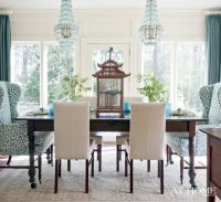 Wingbacks in the Dining Room   Dining chairs, Room and Dining
