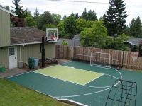 Backyard Basketball Court | outdoors | Pinterest ...