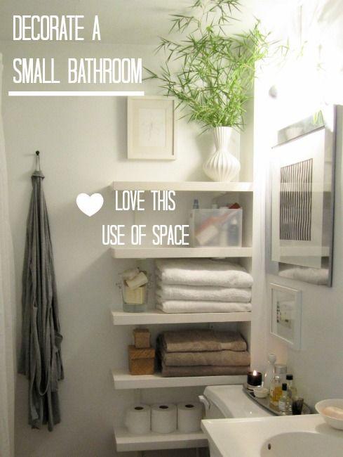 Beach House Design Ideas The Powder Room - Bath, Creative and Store - storage ideas for small bathrooms