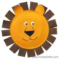 Paper Plate Animals http://www.firstpalette.com/Craft ...