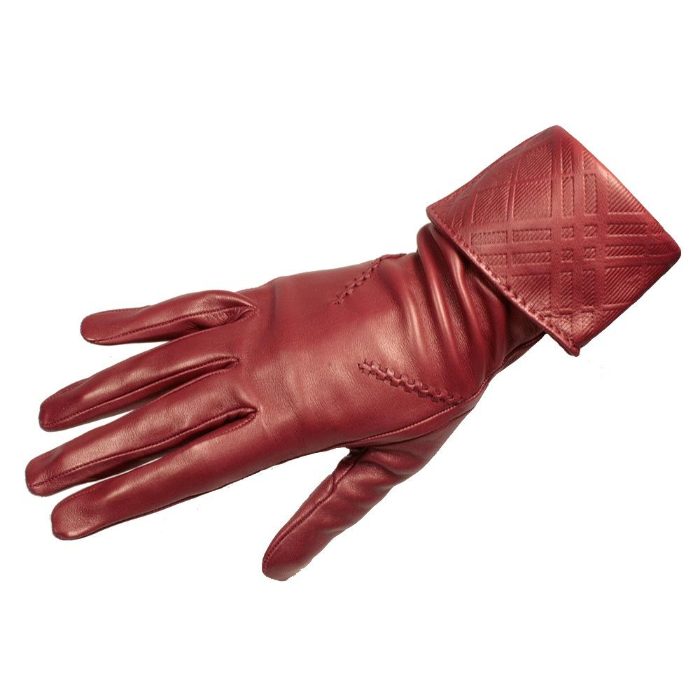 Women s gloves burberry womens leather gloves emily embossed burglo002