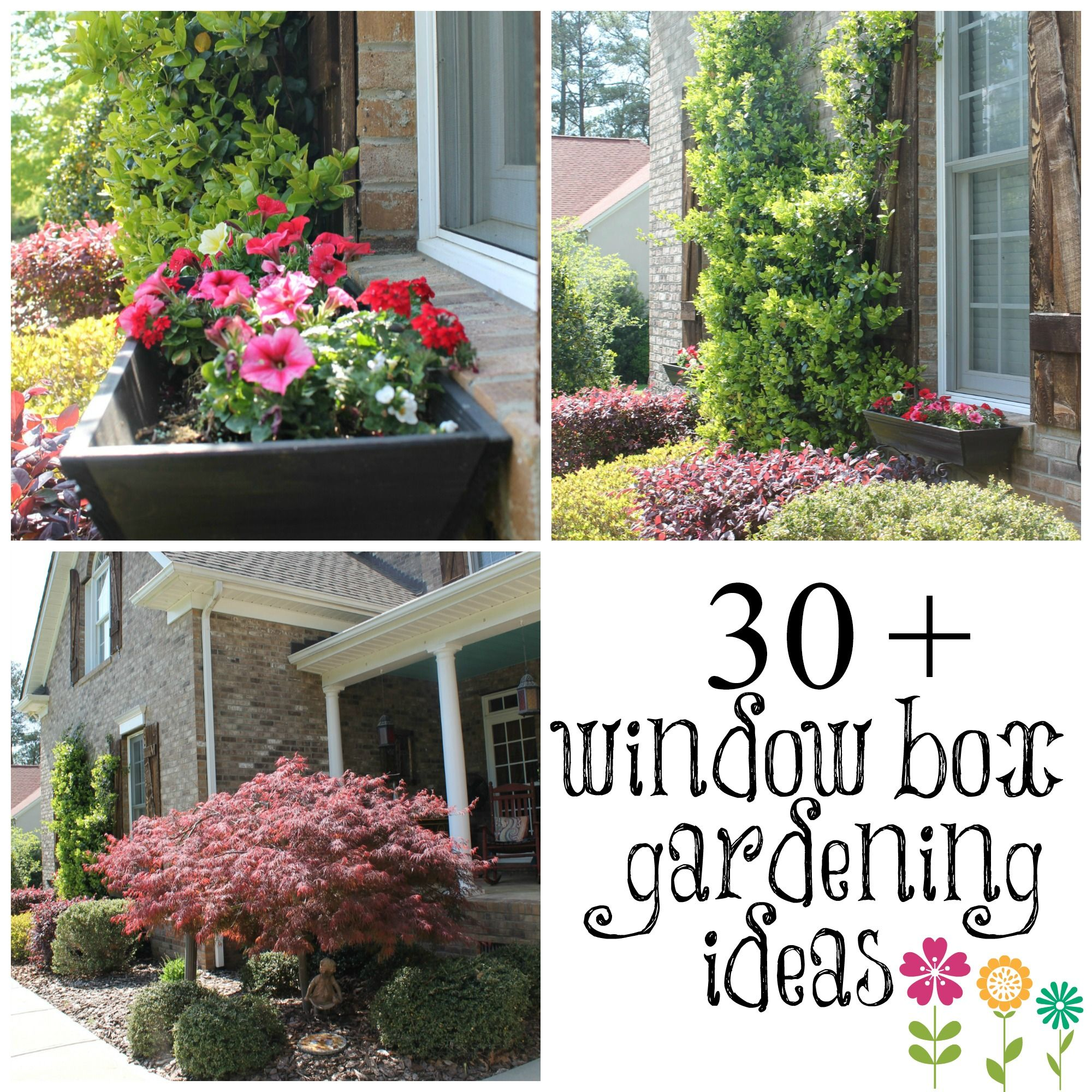 Diy Garden Window Plans Wow Your Windows With Window Boxes Window 30th And Box