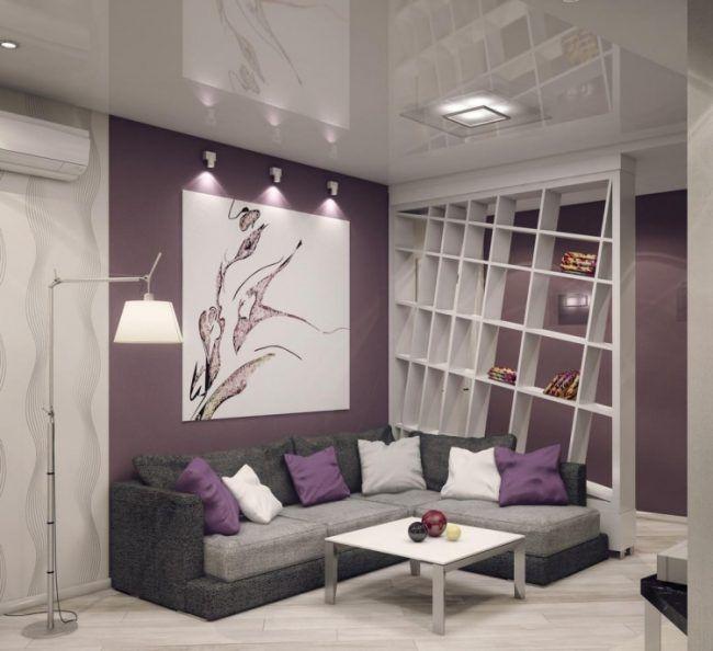wohnzimmer grau violett. wohnzimmer grau lila dekoration funvit ... - Wohnzimmer Grau Lila Weiss