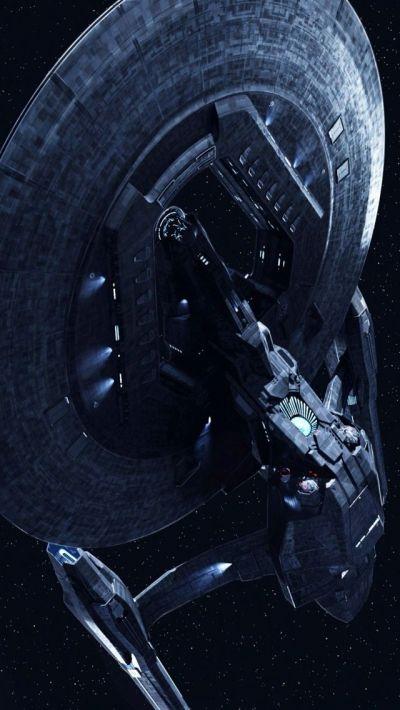 U.S.S. Vengeance from Star Trek Into Darkness iPhone 5 wallpaper   Star Trek Universe ...