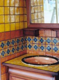 our mexican bathroom on steroids.   Dream House ...