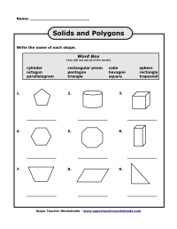 Names of Polygons   scope of work template   Things for ...