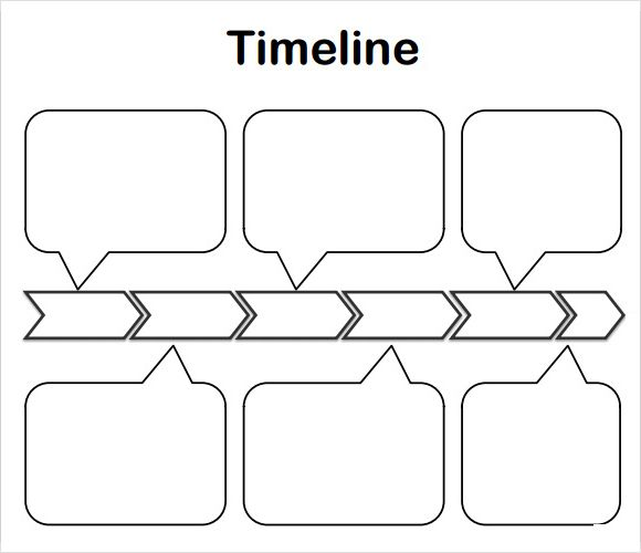Timeline Template for Kids - 6 Download Free Documents in PDF - simple timeline template