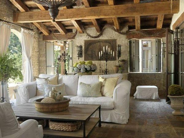 rustikales wandwohnzimmer möbel im landhausstil Baumhaus - landhausstil rustikal wohnzimmer