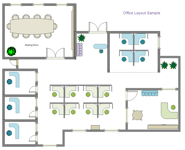 Office Space Planning Software. Interior Office Layout Planner