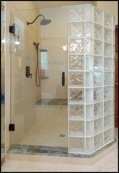 Baños Con Bloques De Vidrio Glass Block Shower - Highlands Ranch | For The Home