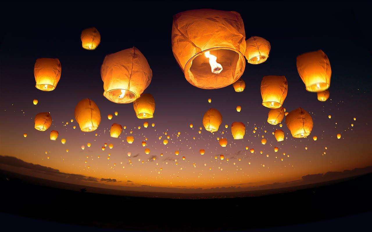 Sky Lanterns Wallpaper Iphone Chinese Lantern Festival Wallpaper 15 Jpeg 1280800