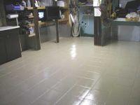 epoxy painted tile floor | Floors | Pinterest | Painted ...