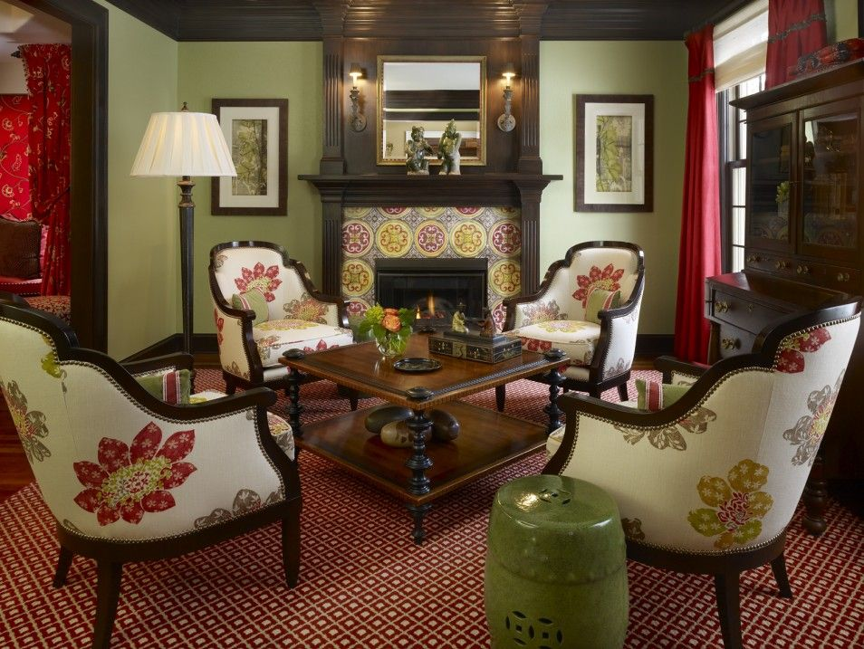 Green And Red Living Room Top Dark Green Living Room Ideas With - red and brown living room