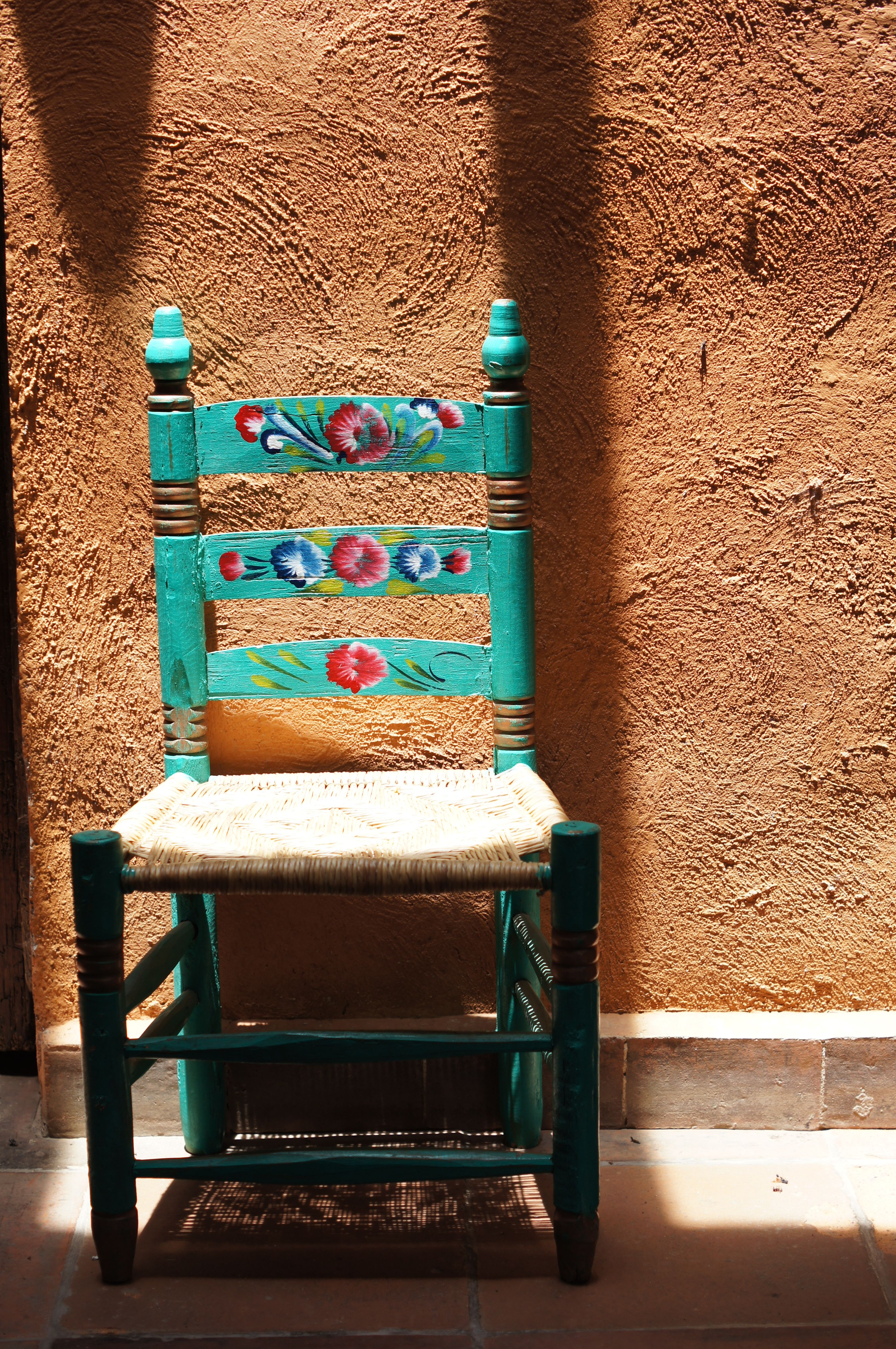 Viva Mexico Chair Sillita Al Sol Mexico Mexican Decor Pinterest